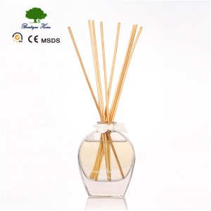 jasmine fragrance heart shaped glass bottle incense stick aroma essential oil diffuser