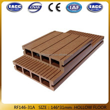 Laminated flooring wood and WPC plastic decks