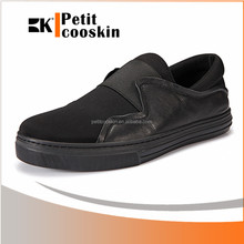Flat low heel slip on mens shoes brand china sneaker