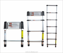 EN131 telescopic ladder stand aluminum tree stand