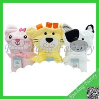 Cartoon animal baby bath towel whole printed terry bath towel