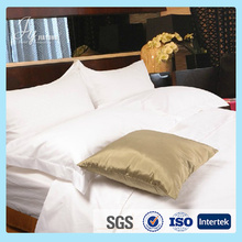 simple 100% cotton bedding set for hotel