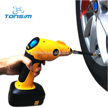 Big LED Light 12v Portable Rechargeable Balloon Pump Cordless Air Compressor