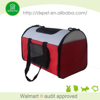 DXPB044 Expandable carry on travel sling fashion airline approved pet carriers under seat