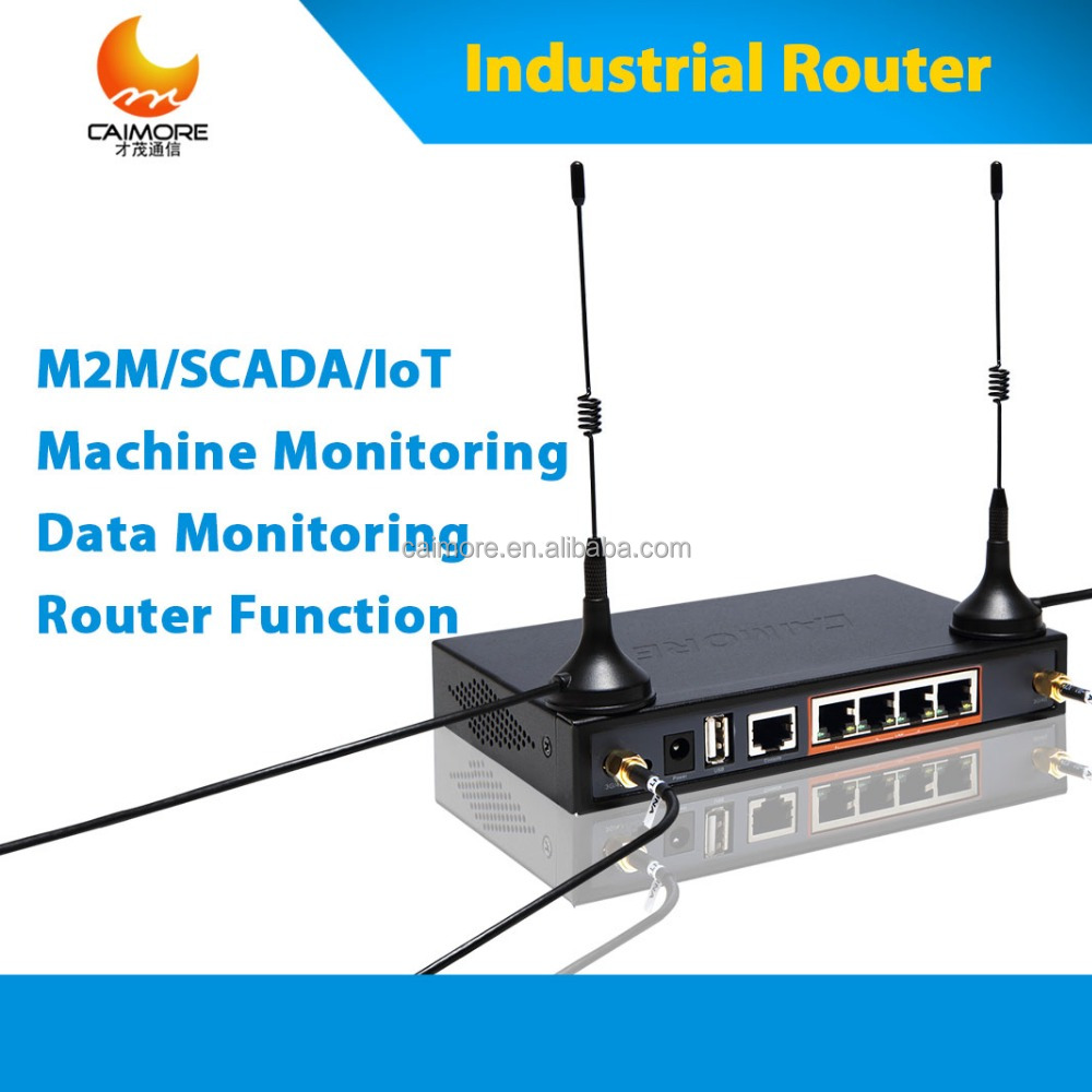 CM520-82F4G 3G wireless modem with RJ45 RS232 RS485 serial to cellular vpn router for smar M2M solution