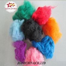 Dope dyed 10d regenerated PSF recycled PET FIBER Polyester Staple Fiber
