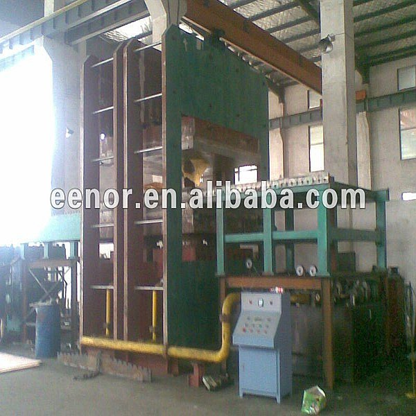 500t 400x400mm Rubber Vulcanizing Machine / Rubber Hydraulic Press / Small Rubber Vulcanizer