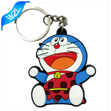 Wholesale High quality 3D PVC rubber key chains