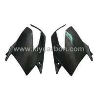 Carbon side tank cover motorcycle part for Suzuki GSR 600