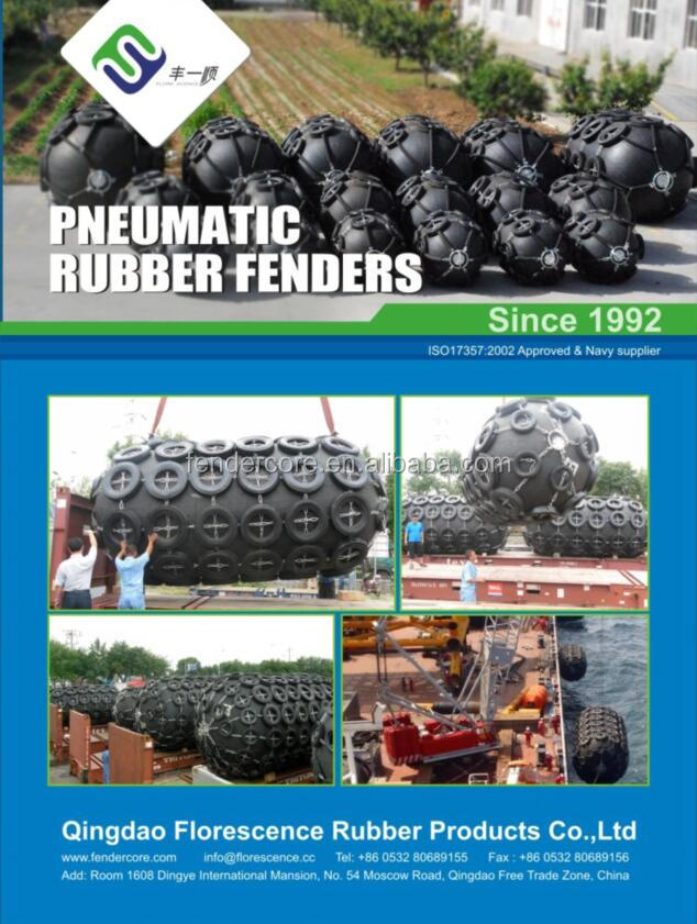 Rubber inflatable fender / marina rubber bumper / floating pneumatic ball