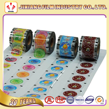 Customize printed PET/CPP cup sealing laminating film for PP cup cling