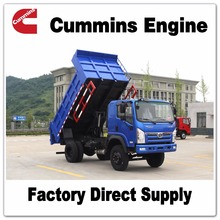 Sitom Brand Cummins 140HP 6 wheel dumper dump truck for sale