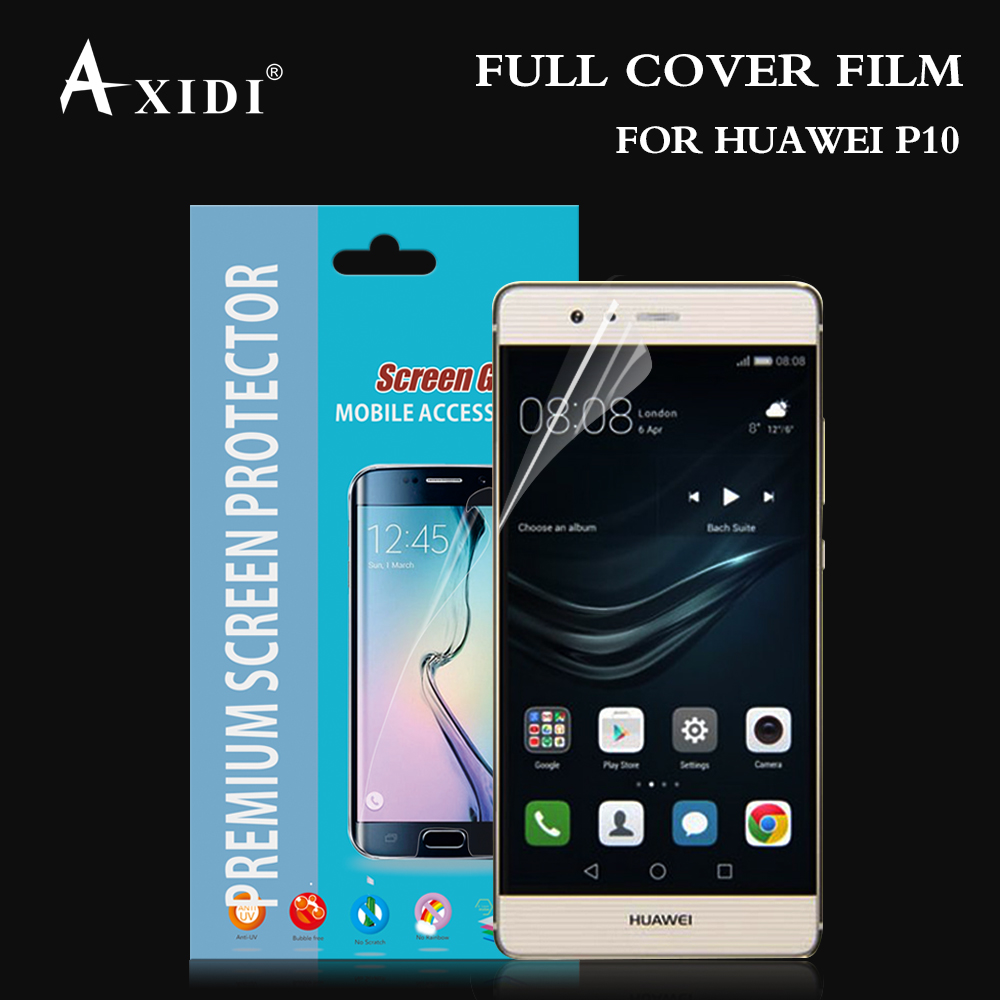 Premium High Clear TPU Tempered Glass Screen Protector For Huawei P10,Certain Size Quality Assurance