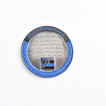 Free Sample Military Souvenir  Enamel Metal Custom Challenge Coin