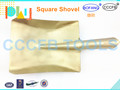 Non-Sparking Brass Square Shovel ,Explosion-proof Aluminum Bronze Spade