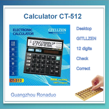 CT-512 calculator with backlight, cosmetic calculator, low price calculator