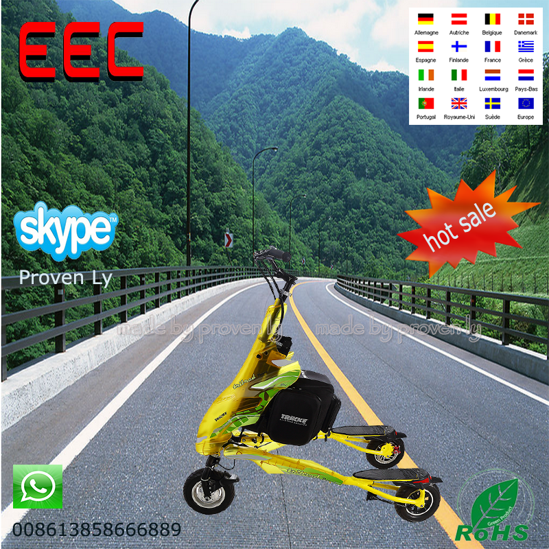The most popular Standing Carving Trikke 3 Wheels Stand Up Electric Trikke Scooter
