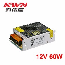 12v 60w Single Output Switching Mode Power Supply for Monitoring and Led Display