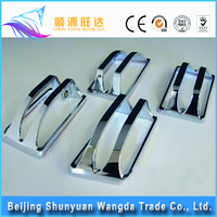 high quality China aluminium casting alloys Fog Lamp Guard for car body parts