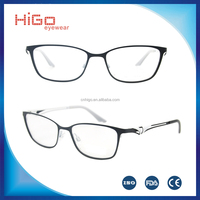 Stainless steel metal optical frame ,nice eyeglasses manufacture in China