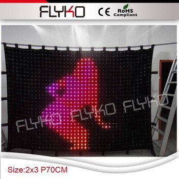 latest product of china RGB full color led display panel