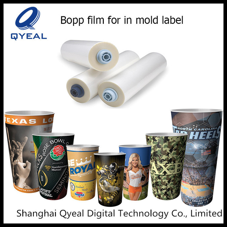 China factory directly sell in mould label film injection