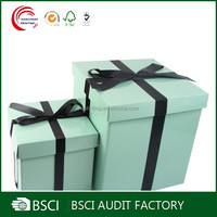 BSCI Audit Factory Custom Design Luxury Gift Box In Shanghai