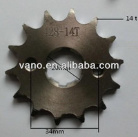 motorcycle MOTO ATV pit dirt bike 14 T tooth 20mm ENGINES sprocket FOR 428 CHAIN