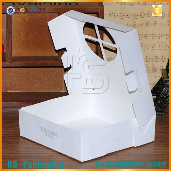 Innovative design sample templates for paper folding boxes with open window