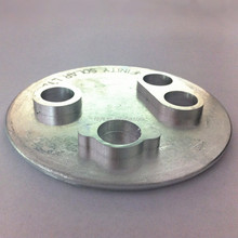 Top rank aluminum cold forging parts/stamp forging storatron cap