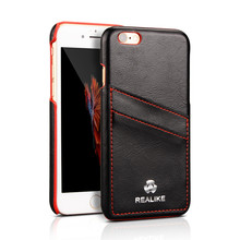 Customized design for iphone 7 leather back cover case, phone case for iphone 7