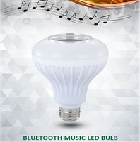 LED Bluetooth Music Bulb E27 Light 3.0 Music Palying + RGB Light with 24keys Remote Control Wireless Speaker