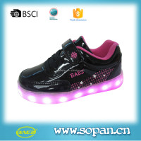 2016 Children Colorful LED shoes, Fancy girl sport shoe,Fashion style hight quality LED Sneaker shoes