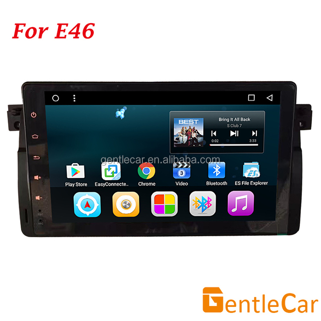 Octa Core Android 7 Car sat nav Audio MP3 System DVD Player GPS stereo for E46 M3