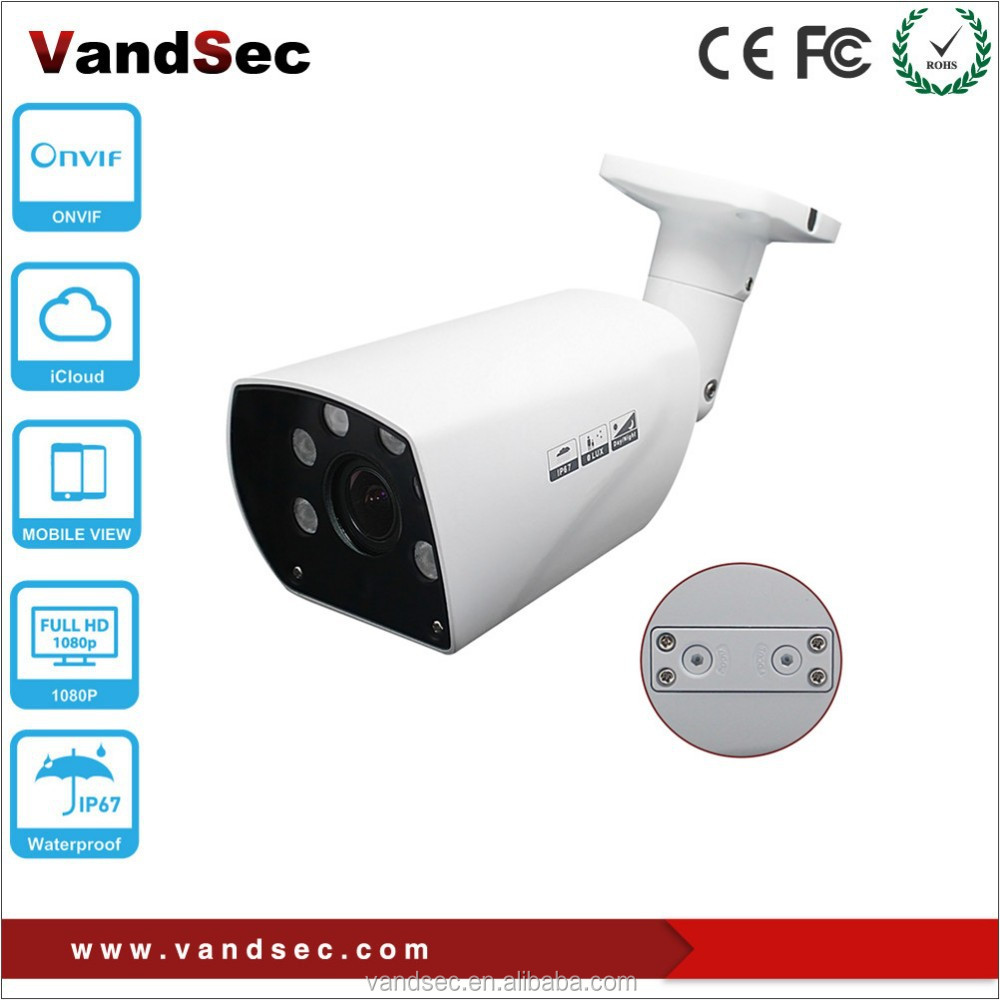 Vandsec 2016 New Arrival Network Wireless IP Camera Onvif P2P Outdoor Waterproof IP67 POE IP CCTV Camera Wifi IP Camera