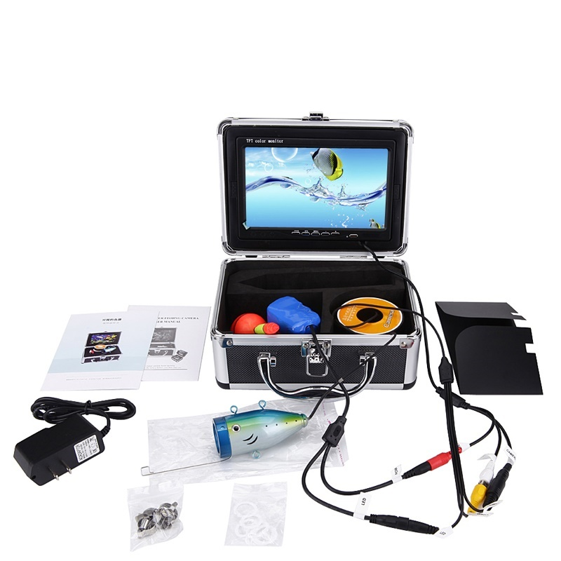 "7"" LCD Monitor Fish Finder Underwater <strong>Fishing</strong> Camera With 50M Cable For <strong>Fishing</strong>"