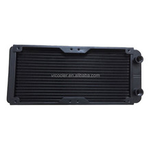 High quality aluminum computer radiator water cooling radiator