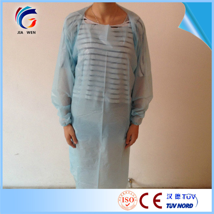 sleeveless examination gowns with high quality