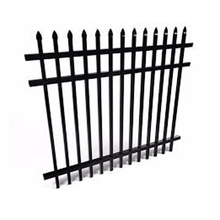 Easily assembled wrought iron panels cheap fences for sale