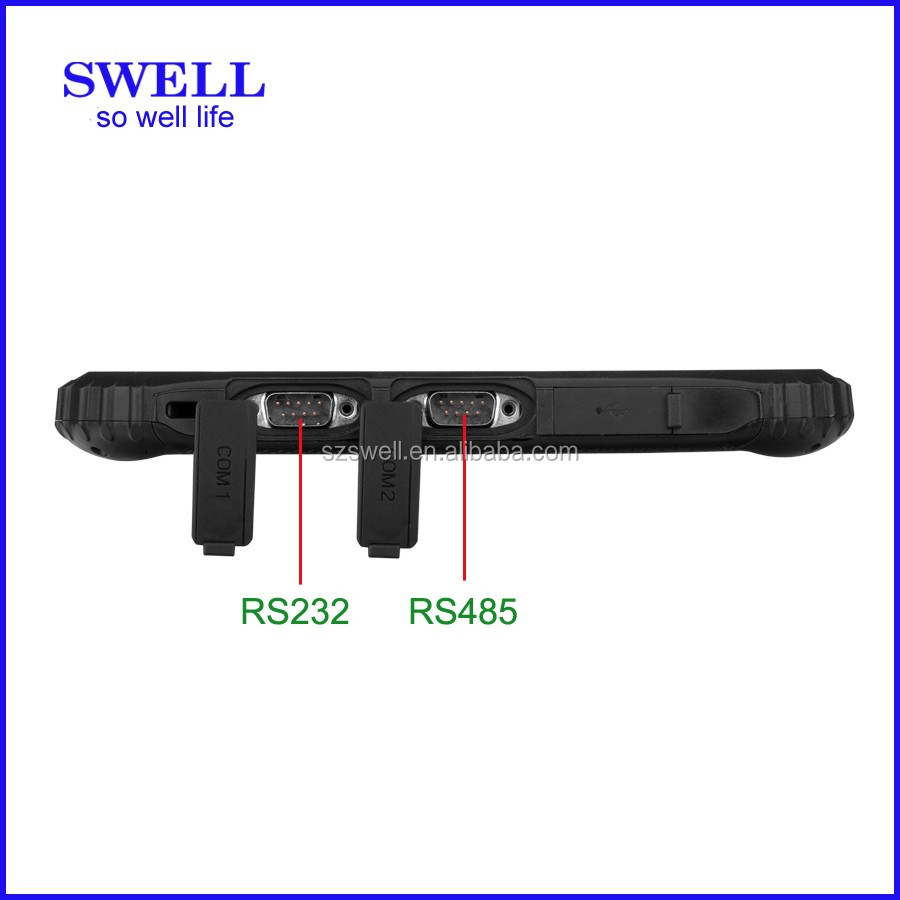 SWELL I22H big size ruggedized tablet industrial use window tablet with rfid reader android tablet