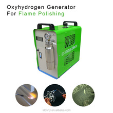 Top quality brown gas power generator water fuel oxyhydrogen acrylic polisher generator