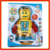 B/O Bump & go kids walking robot with music and light