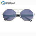 Brightlook trendy italy design ce uv400 sun glasses,metal charm elegant women sunglasses