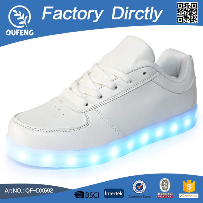 High Top LED Shoes Flashing Sneakers Lightning canvas sneaker