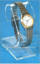 Clear Acrylic Casio Watch Display Stand Showcase Countertop
