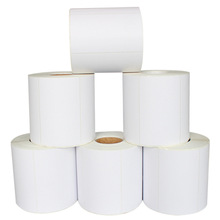 Self <strong>Adhesive</strong> 4x6 Inch Direct Thermal Sticker Paper Thermal Transfer Printed Label Zebra/Dymo