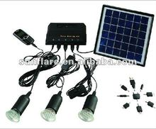 4w affordable led solar light for home use