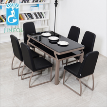 Cheap Restaurant Tables and Chairs CT503+CY503 dining room chair table kitchen furniture