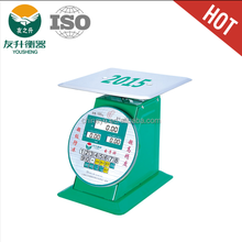 Big pallet scale 200kg electronic spring scale LED display