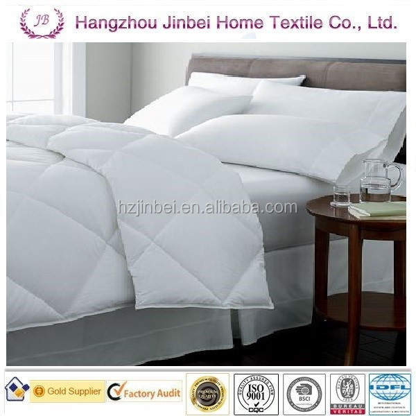 White color polyester comfort/quilt